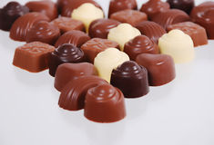 Chocolate bon bons Stock Images