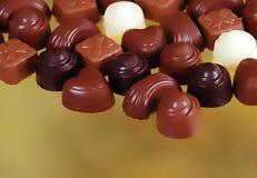 Chocolate bon bons Stock Image