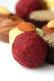 Chocolate bon bons Stock Photo