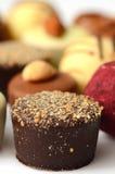 Chocolate bon bons Stock Photography