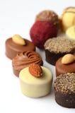Chocolate bon bons Stock Images