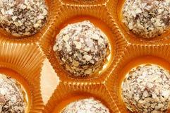 Chocolate bonbon Stock Images