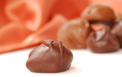 Chocolate bonbons Royalty Free Stock Photo