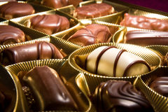 Free Chocolate Bonbons Cakes Royalty Free Stock Images - 4131779