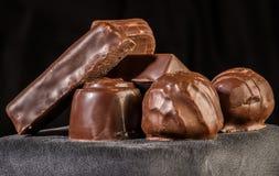 Chocolate bonbons Royalty Free Stock Image