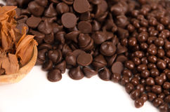Chocolate bonbons Stock Photography