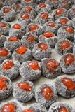 Chocolate Bourbon Balls Royalty Free Stock Image