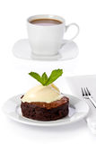 Chocolate-bourbon Cake Royalty Free Stock Photo