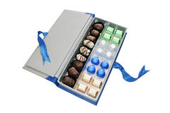Chocolate box Royalty Free Stock Photos
