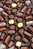 Chocolate box. Still life of chocolate box Stock Photography