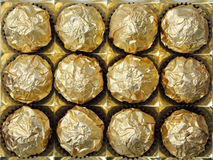 Chocolate  in a box Royalty Free Stock Images