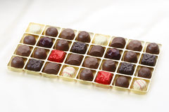 Chocolate box. Sweet chocolate box best for all occasion gift Royalty Free Stock Photography