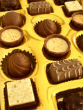 Chocolate box Stock Images