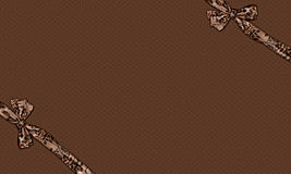 Chocolate Box. A chocolate color background, can be used as box cover, newsletter, background, invitation Stock Photos