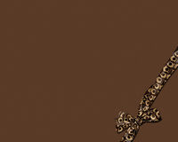 Chocolate Box. A chocolate color background, can be used as box cover, newsletter, background, invitation Stock Photography