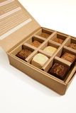 Chocolate Box. Australian Chocolate Truffles in a box Stock Photography