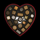 Chocolate box. Stock Images