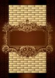 Chocolate Box Menu Cover Royalty Free Stock Photo