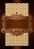 Chocolate Box Menu Cover. Illustration of Chocolate Box Menu Cover Royalty Free Stock Photo