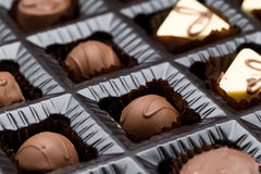 Chocolate Box Sampler Royalty Free Stock Photo