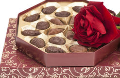 Chocolate boxes Royalty Free Stock Images