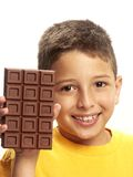 Chocolate boy. Stock Photo