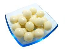 Chocolate branco Imagem de Stock