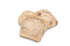 Chocolate bread isolaed on white background. Chocolate bread isolated on white background Stock Photos
