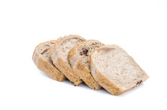 Chocolate bread isolaed on white background. Chocolate bread isolated on white background Stock Photo