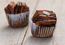 Chocolate bread muffin Royalty Free Stock Images