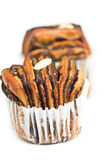 Chocolate bread muffin Royalty Free Stock Image