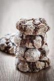 Chocolate break cookies Royalty Free Stock Image
