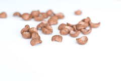Chocolate breakfast cereal Royalty Free Stock Photos