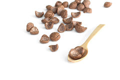 Chocolate breakfast cereal Stock Images