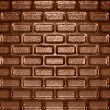 Chocolate bricks. Abstract background in a form of chocolate bricks Stock Photography
