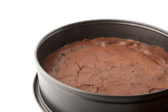 Chocolate brownie Stock Images