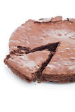 Chocolate brownie cake Stock Photo