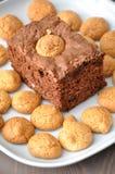 Chocolate Brownie Cake Royalty Free Stock Photography