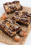 Chocolate Brownie Cake Imagens de Stock Royalty Free