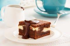 Chocolate brownie Royalty Free Stock Photos