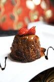 Chocolate Brownie Dessert Stock Photography