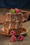Chocolate brownie Royalty Free Stock Photo
