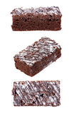 Chocolate brownie isolated Royalty Free Stock Image