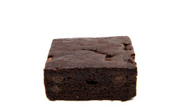 Chocolate Brownie Isolated Stock Image