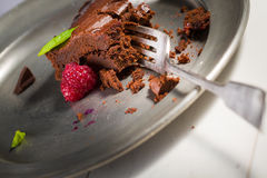 Chocolate brownie Royalty Free Stock Photos