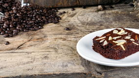 Chocolate Brownie Stock Photography