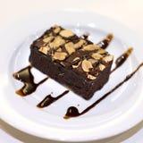 Chocolate brownie Stock Photo