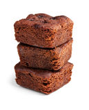 Chocolate brownies dessert Stock Image
