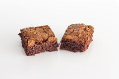 Chocolate brownies dessert Royalty Free Stock Images