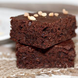 Chocolate brownies Royalty Free Stock Photos